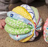 Мячик из ткани
