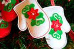 Новогодние подарки из фетра