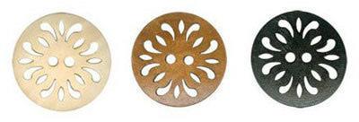 Пуговицы деревянные (фото, вид 1)