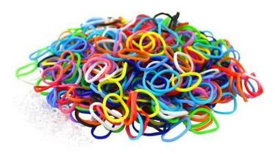 Набор loom bands - резиночки для плетения (фото, вид 2)