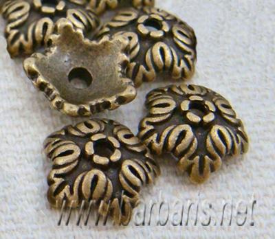 Розетка бронза (фото, вид 1)