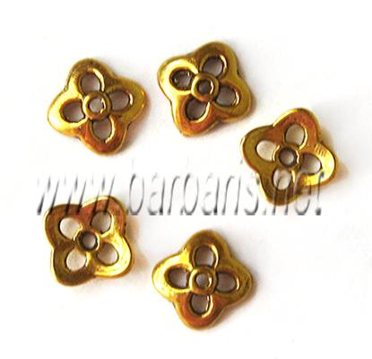 Розетка золото (фото, вид 1)