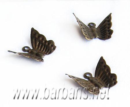 """Подвеска """"Бабочка"""" филигрань (фото, вид 1)"""