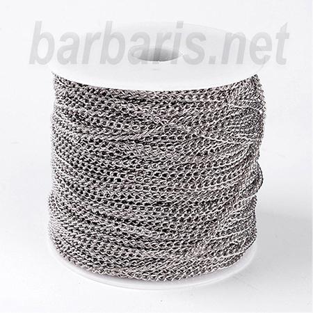 Цепочка никель (фото, вид 1)