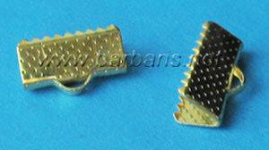 Зажим для ленты золото (фото, вид 1)