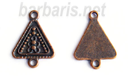 """Коннектор медь """"Треугольник"""" (фото, вид 1)"""
