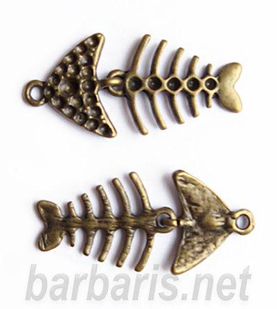 """Подвеска бронза """"Рыба"""" (фото, вид 1)"""