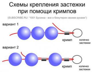Кримп (стопплер) серебро (фото, вид 1)