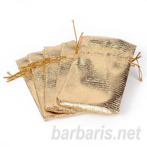 """Подарочный пакетик """"Золото"""" (фото, вид 1)"""