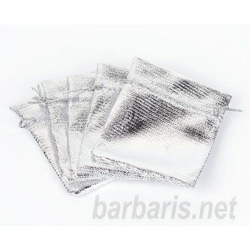 """Подарочный пакетик """"Серебро"""" (фото, вид 1)"""
