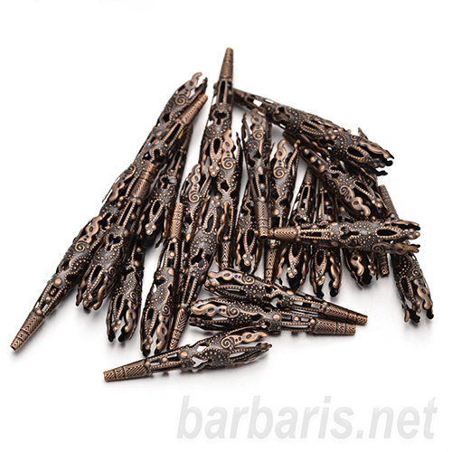 Розетка медь (фото, вид 1)