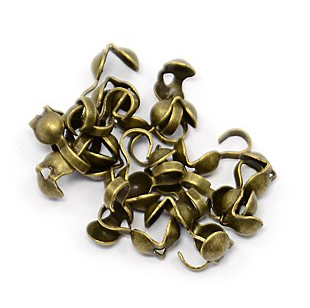 """Зажим для маскир. узлов (""""каллотт"""") бронза (фото, вид 1)"""