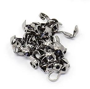 """Зажим для маскир. узлов (""""каллотт"""") черый никель (фото, вид 1)"""