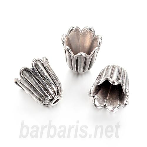 Розетка серебро (фото, вид 1)