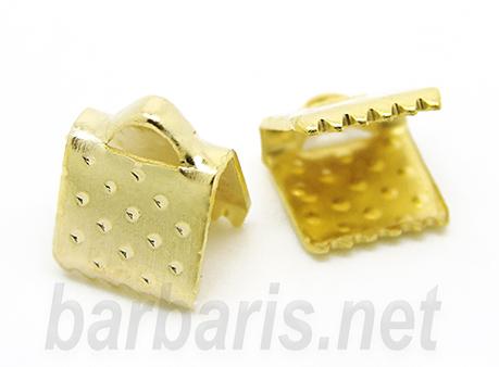 Зажим для ленты золото