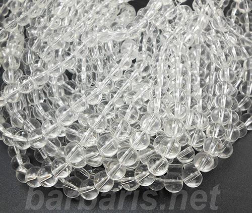 """Бусины """"Прозрачный шар"""" стекло"""
