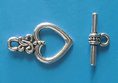 Замок-тоггл серебро