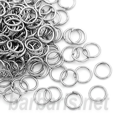 Кольцо для бус серебро (фото)