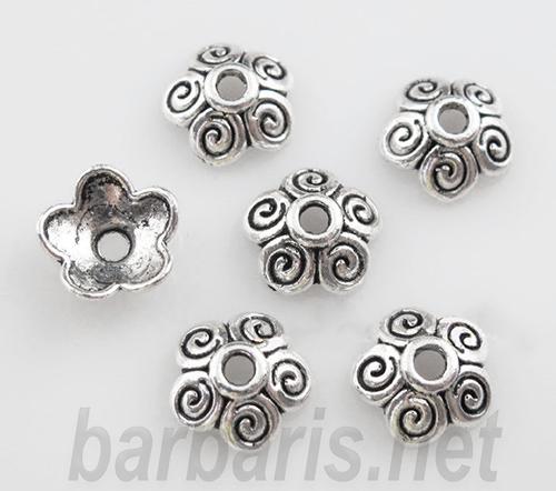 Розетка серебро (фото)