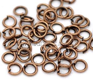 Кольцо для бус медь