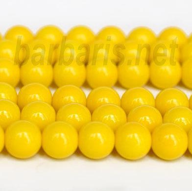 """Preciosa Бусины """"Желтый шар"""" стекло"""