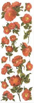"""Mr.Painter Наклейки для керамики """"Розовые розы"""""""
