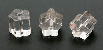 """Preciosa Бусины """"Прозрачные трубочки"""" стекло"""
