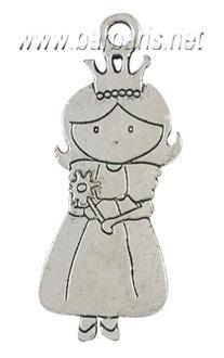 """Подвеска серебро """"Принцесса"""""""