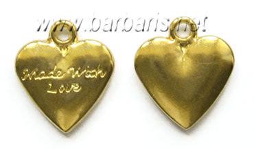 """Подвеска золото """"Сердце"""""""