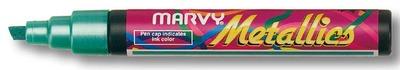 Marvy Маркер пигментный для бумаги с оттенком металик