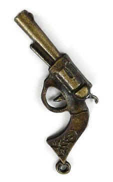 """Подвеска бронза """"Пистолет"""""""