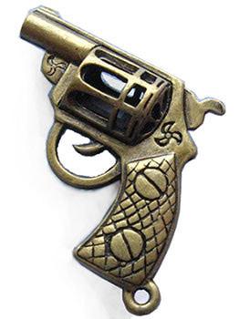 """Подвеска бронза """"Револьвер"""""""