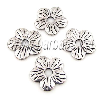 """Бусина металл серебро """"Цветок"""""""