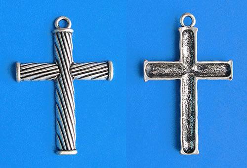 """Подвеска """"Крест"""" серебро"""