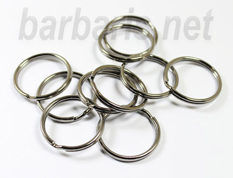 Zlatka Кольцо для бус никель