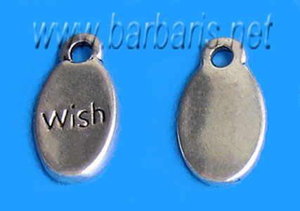 "Подвеска серебро ""Wish"""
