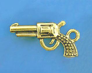"""Подвеска золото """"Пистолет"""""""
