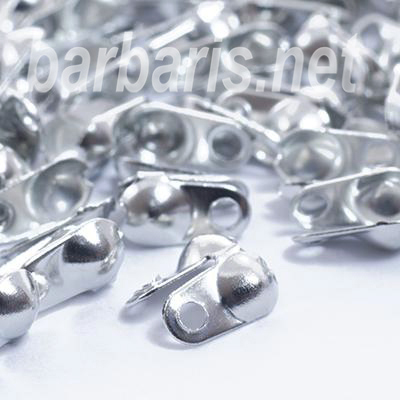 Зажим для узла (скуфейки) никель