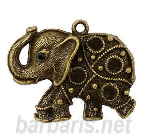 "Подвеска бронза ""Слон"" (фото)"