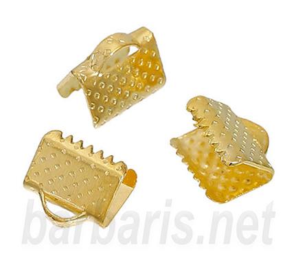 Зажим для ленты золото (фото)