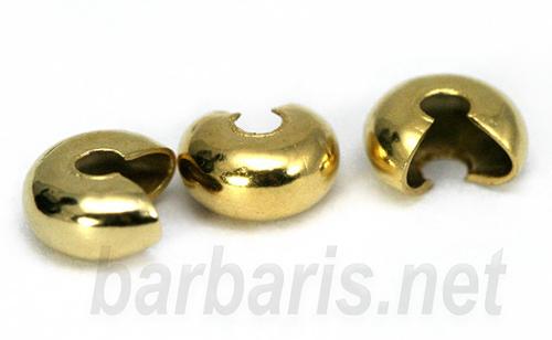 Покрывной кримп золото (фото)