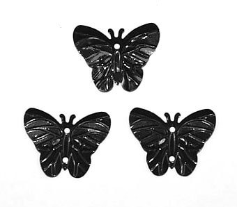 """Пайетки """"Черные бабочки"""""""