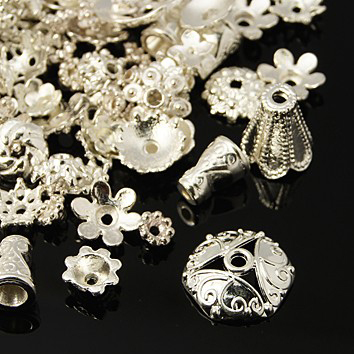 Розетки ассорти серебро
