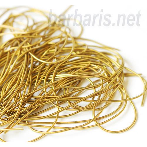 Канитель мягкая яркое золото