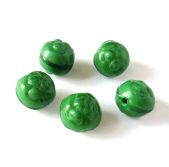 "Preciosa Бусины ""Зеленый клевер"""