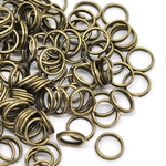 Кольцо для бус бронза