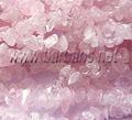 Розовый кварц крошка