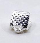 Зажим для ленты серебро