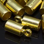 Концевик для шнура золото