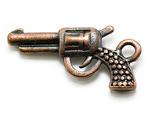 """Подвеска медь """"Пистолет"""""""